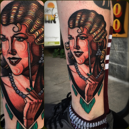 Tattoos - Lady Face - 131692
