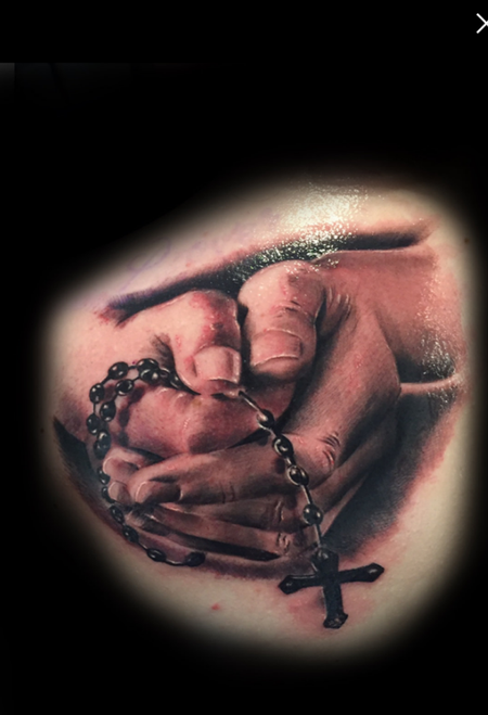 Jason Michalak - Hands holding rosary