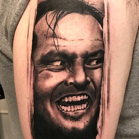 Tattoos - Here's Johnny tattoo - 131272