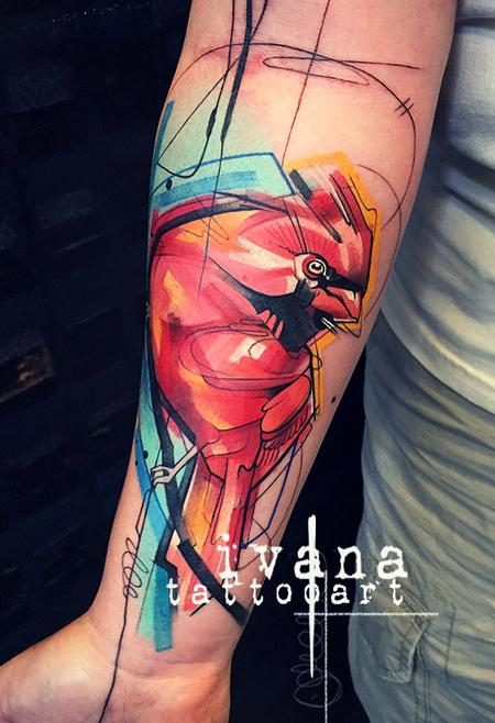 Ivana Tattoo Art - Red Cardinal