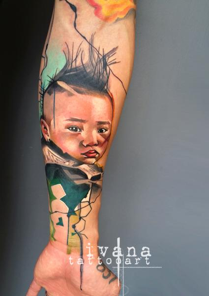 Ivana Tattoo Art - Portrait of Harlem
