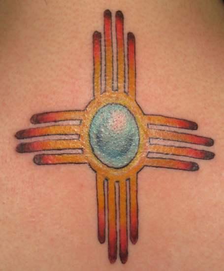 Zia Symbol Tattoo By Khalil Rivera Tattoonow