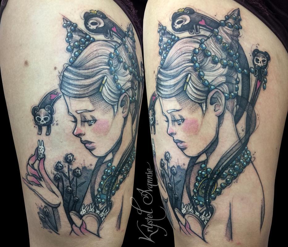 Inspired by chiara bautistas artwork by krystel ivannie tattoonow krystel ivannie inspired by chiara bautistas artwork gumiabroncs Images