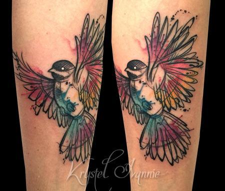 Tattoos - Bird - 128453