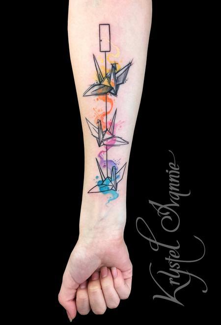 Tattoos - Paper Crane - 128450