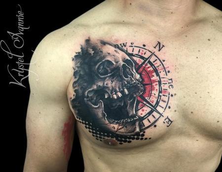 Tattoos - Skull - 128449