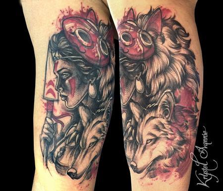 Tattoos - Princess Mononoke - 128445