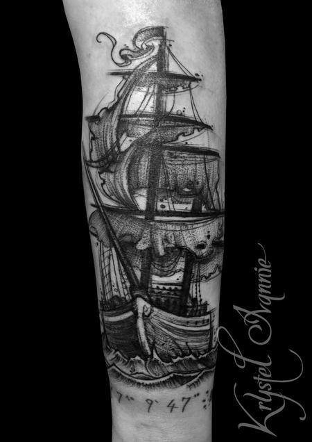 Tattoos - Ship - 129862