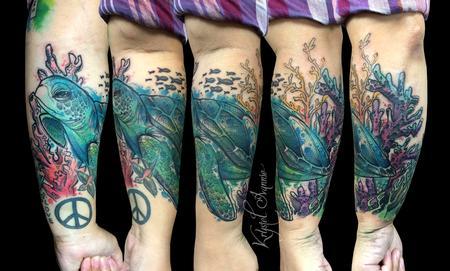 Tattoos - Sea Turtle - 130366