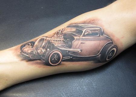 Tattoos - Hot Rod - 91448