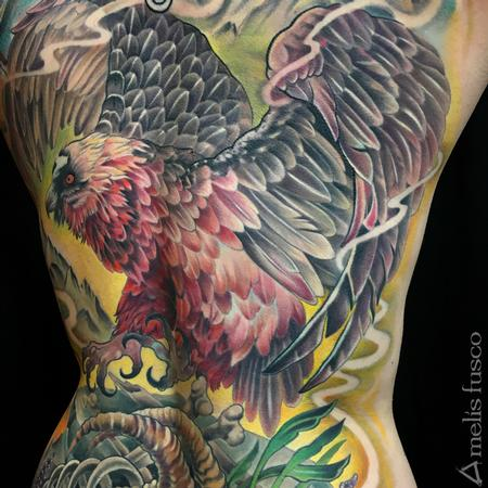 Tattoos - Bearded Vulture  - 122268