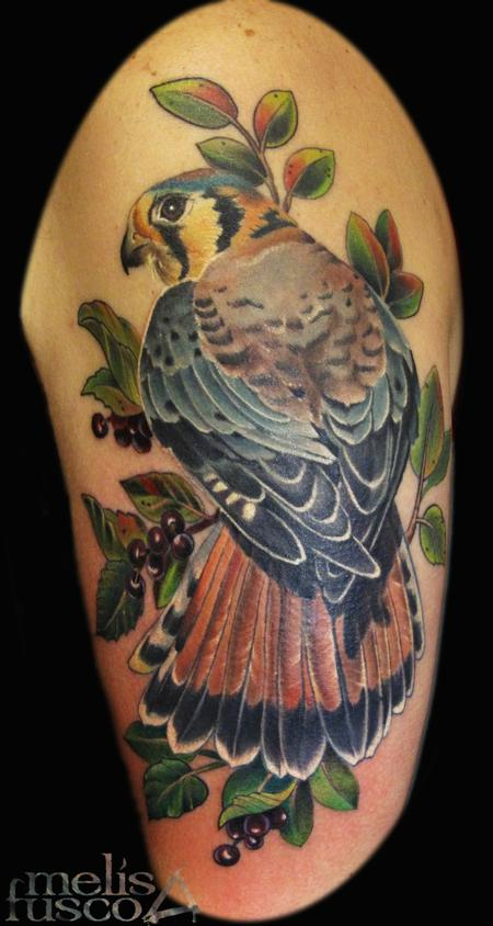 Tattoos - hawk - 114829