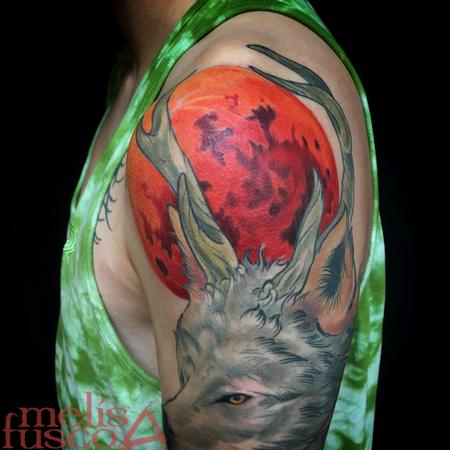 Tattoos - Blood moon addition  - 116141