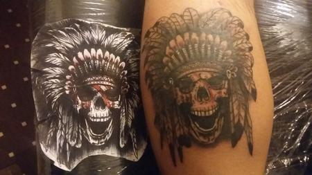 Tattoos - Chief Skull - 131597