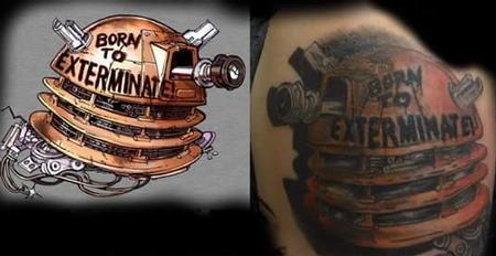 Tattoos - Exterminate - 131684