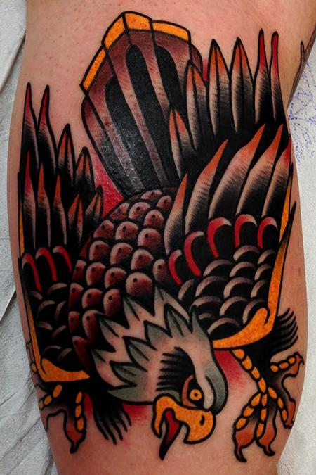 Tattoos - eagle tattoo - 87132