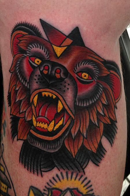 Tattoos - bear tatoo - 79185