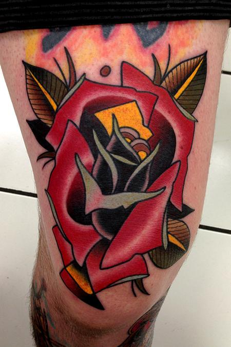 Tattoos - rose tattoo - 79223