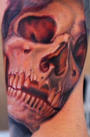 Nikko Hurtado - Skull collab