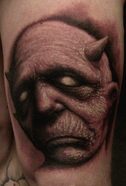 Paul Booth - Demon Tattoo