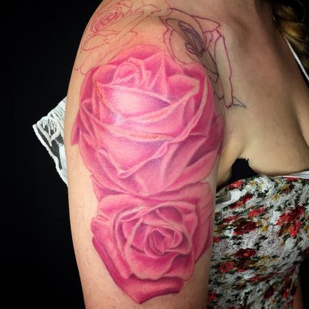 Tattoos - Pinky roses - 111771