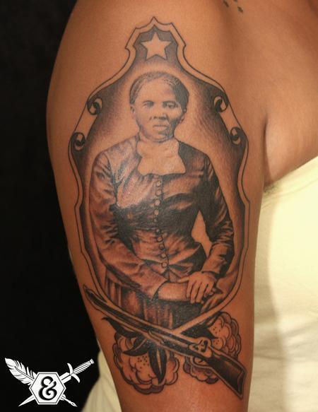 Russ Abbott - Harriet Tubman tattoo