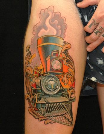 Russ Abbott - Locomotive Tattoo