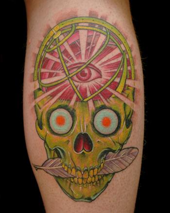 Russ Abbott - Science Skull