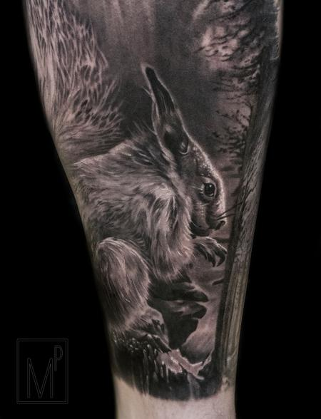 Tattoos - squirrel - 133206