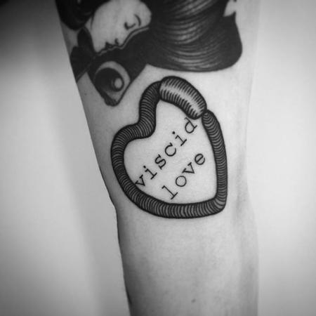 Tattoos - viscid love - 130710