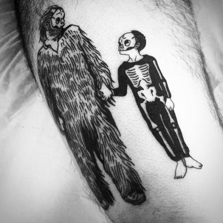 Tattoos - tre allegri ragazzi morti - 130734