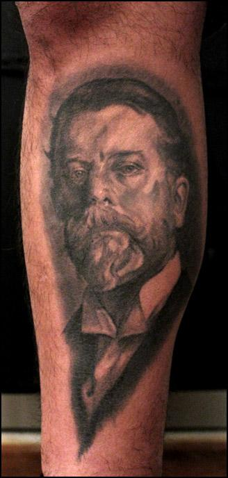 Shawn Barber - portrait of the artist, john singer sargent