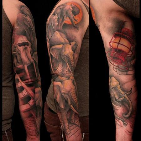 Shawn Barber - Elephant Locomotion