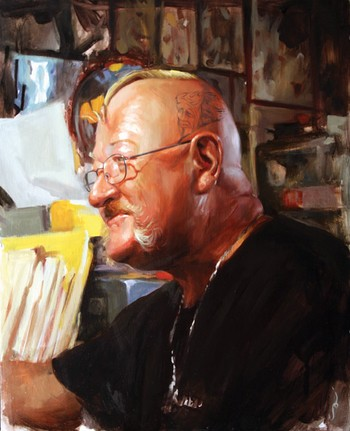 Shawn Barber - Portrait of the Artist, Tennessee Dave