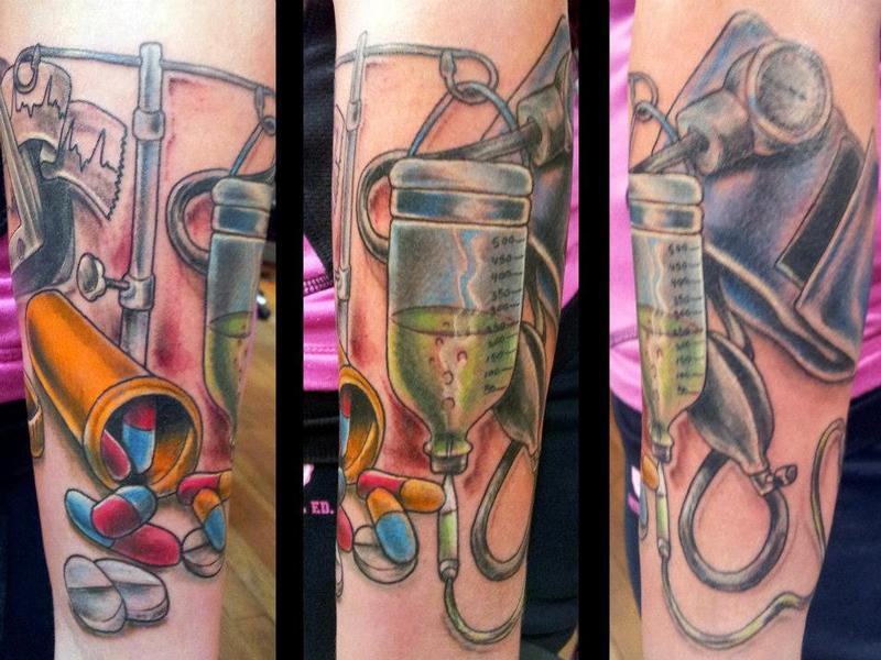 Nurse Symbol Tattoos 74979 Loadtve