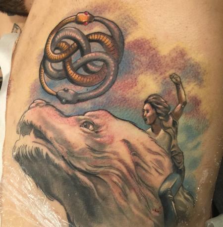 Tattoos - Damon Conklin Neverending Story - 131233