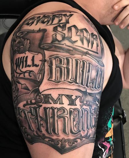 Tattoos - Damon Conklin Lettering - 131240