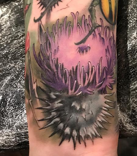 Tattoos - Damon Conklin Thistle - 131241