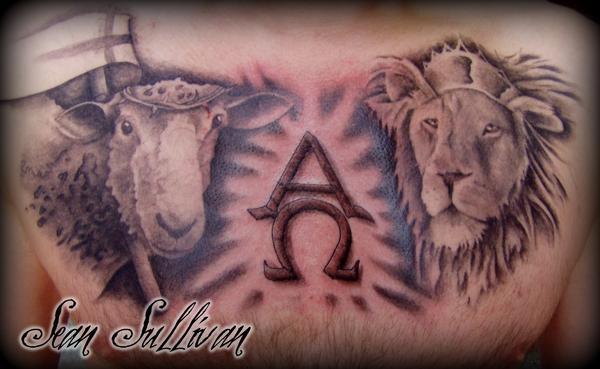 Alpha omega by Sean Sullivan: TattooNOW :
