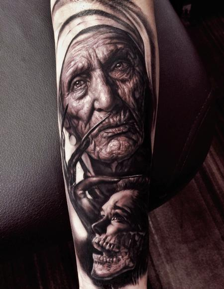 Tattoos - Nun - 128111