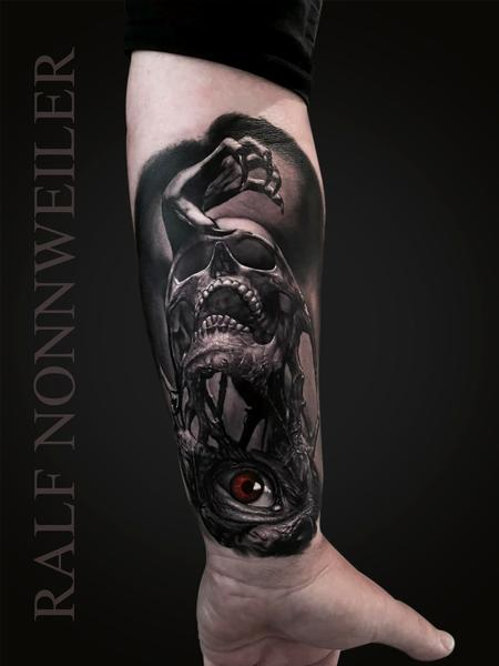 Tattoos - Custom Dark Design - 119137