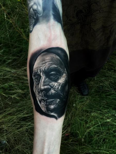 Tattoos - Old Vampyre - 119141
