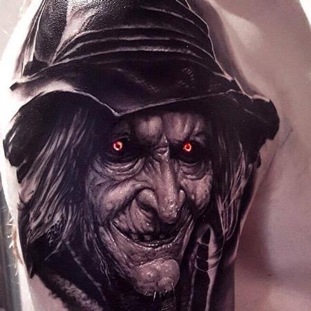 Tattoos - Custom Witch Design - 119138