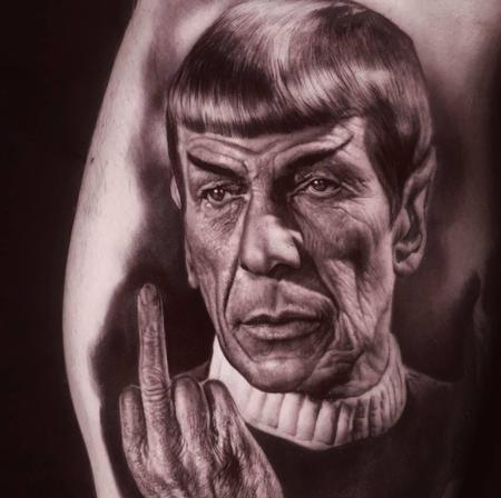 Tattoos - Spock Tattoo - 136097