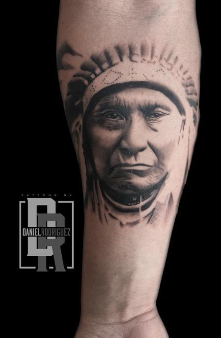 Tattoos - native american tattoo - 127662