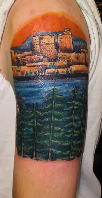 Frederick Nitzman - Portland Maine Landscape - Portland Maine Landscape By Frederick Nitzman: TattooNOW :