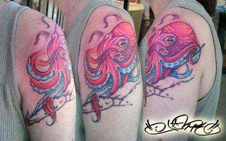Jamie Allen - Pink Octopus