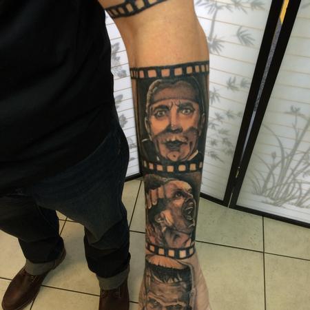 Tattoos - Horror Movie Sleeve - 120190
