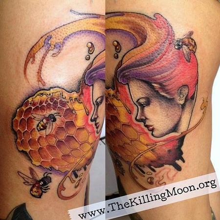 Tattoos - Honeycomb - 99567