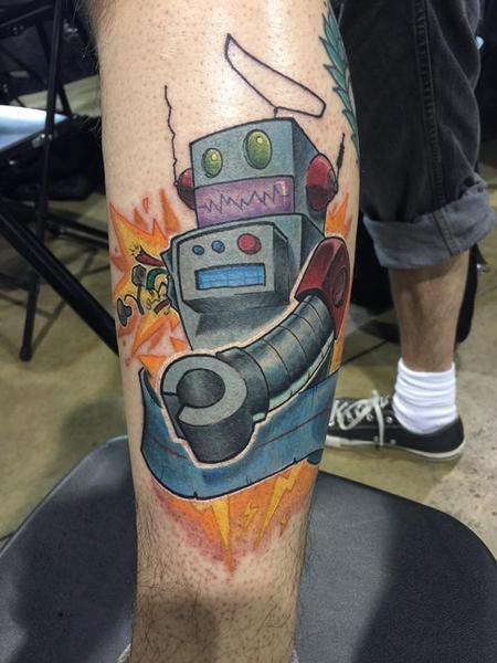Tattoos - robot - 115769